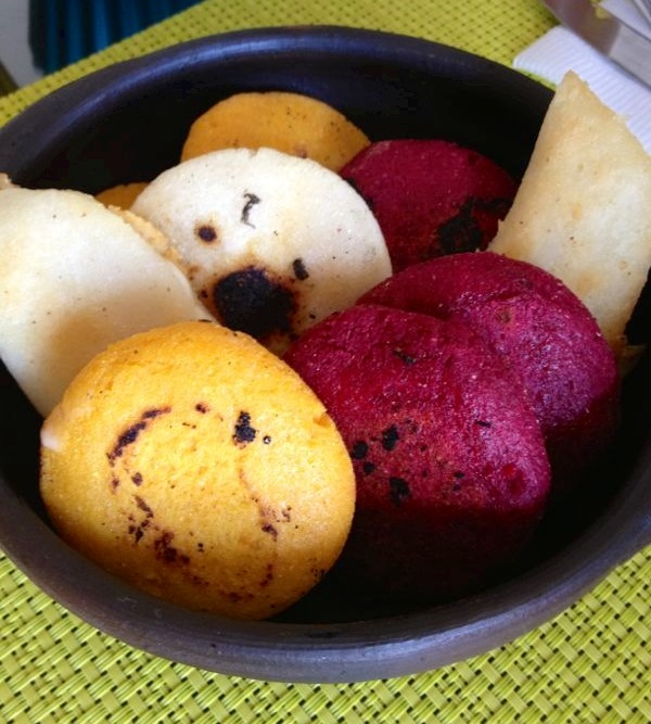 arepas colores