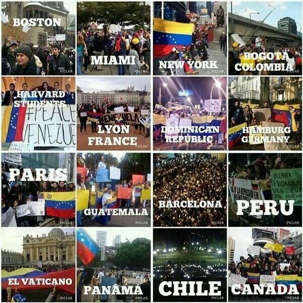 Venezuelans around the world