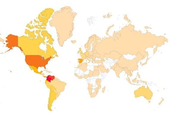 mapa ultimos 7 dias