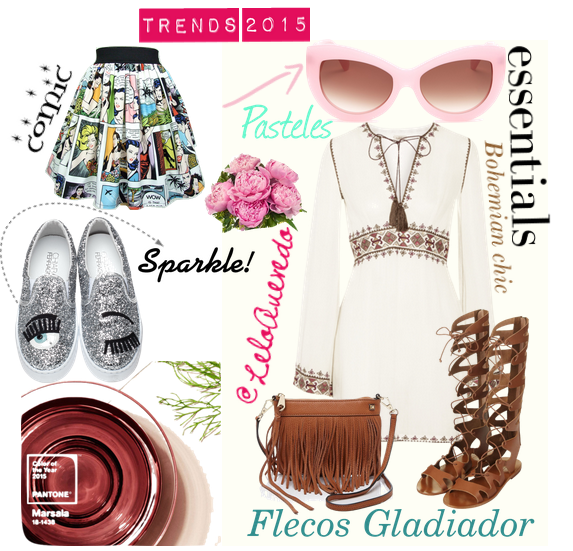 Tendencias de moda 2015